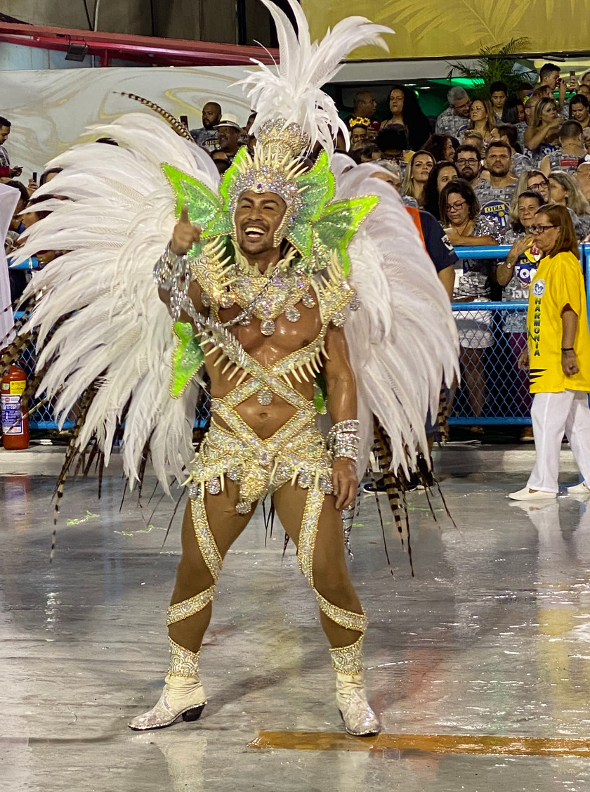 Going to Rio during Carnival time also means that you'll get to experience the heart and soul of Rio de Janeiro