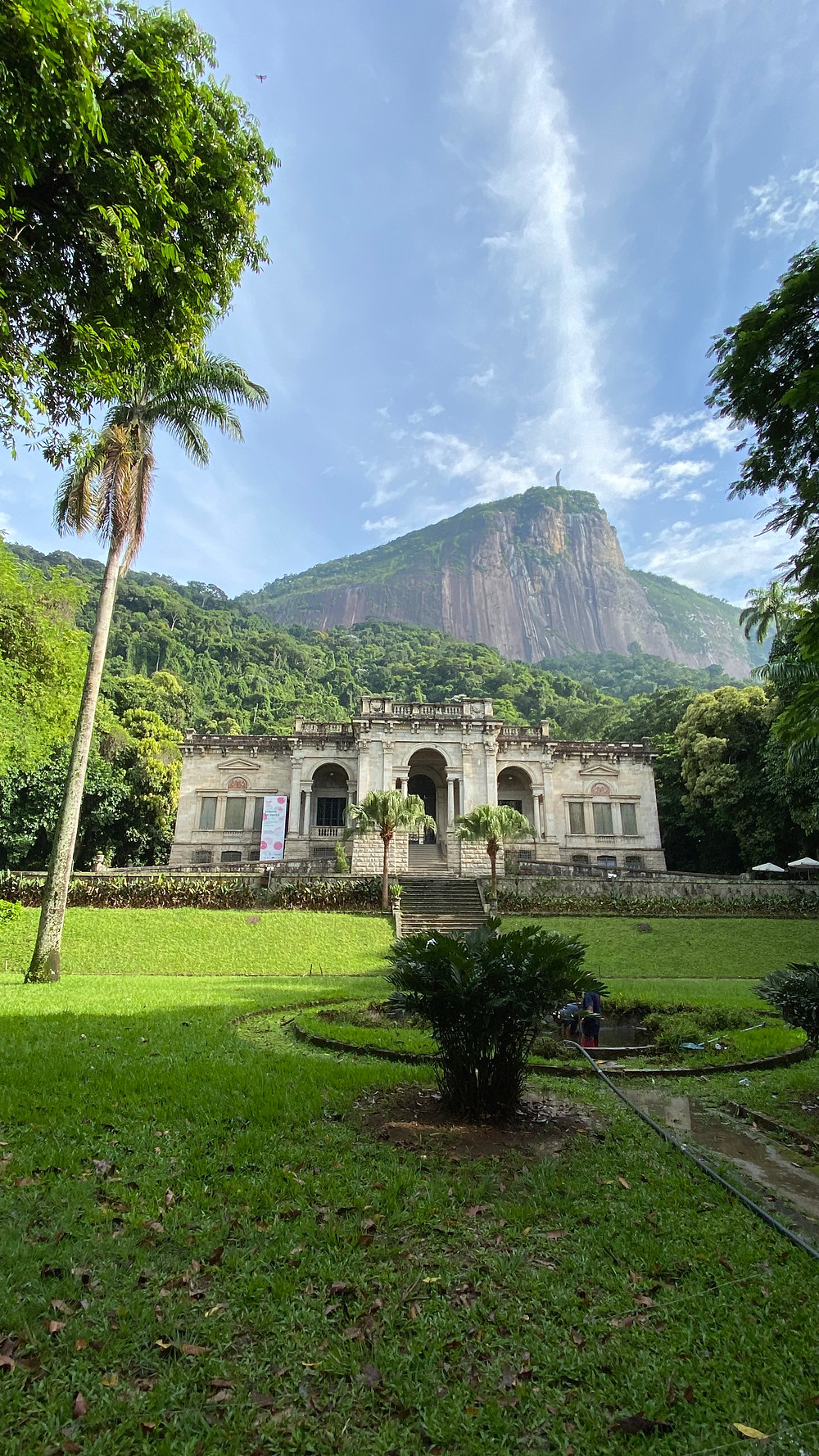 Parque Lage is a large park at the foot of Corcovado