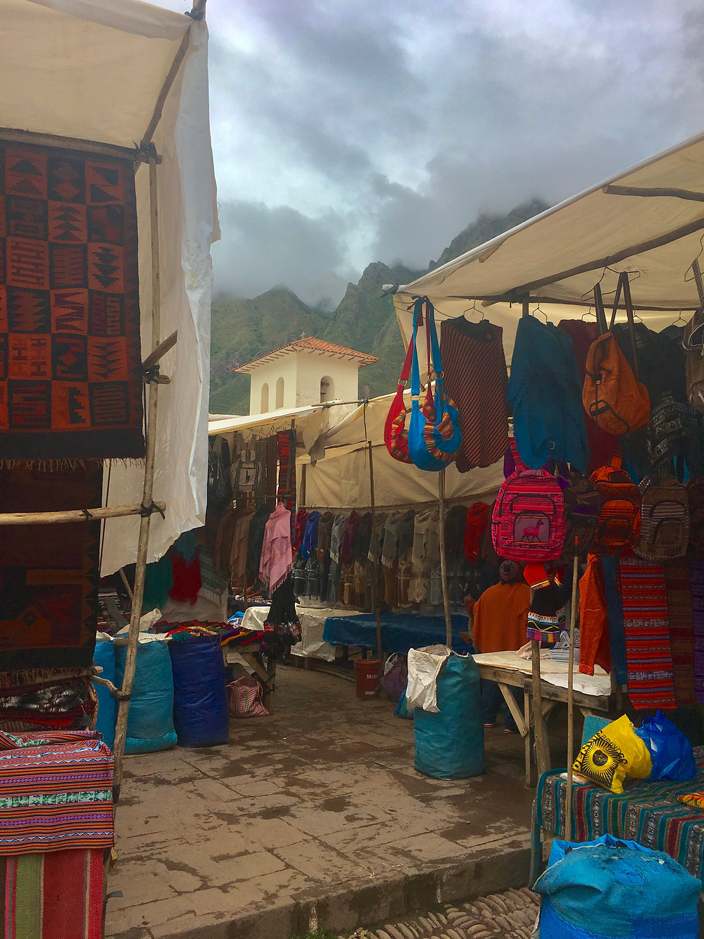 Pisac Artisinal Market has a lot of options for souvenirs and more. Don't forget to negotiate on prices!