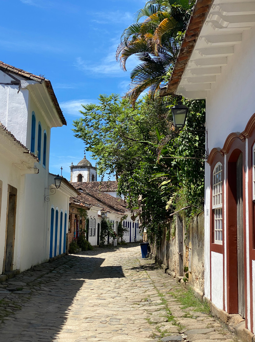 Paraty is nested along the Costa Verde between Rio and Sao Paulo and was built during the 17th century Brazilian Gold-Rush.