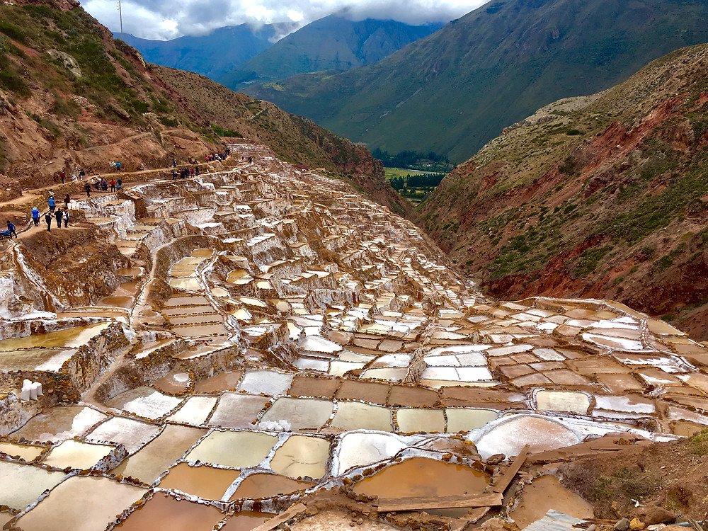 Salinas de Maras are really interesting to see and the salt is delicious!