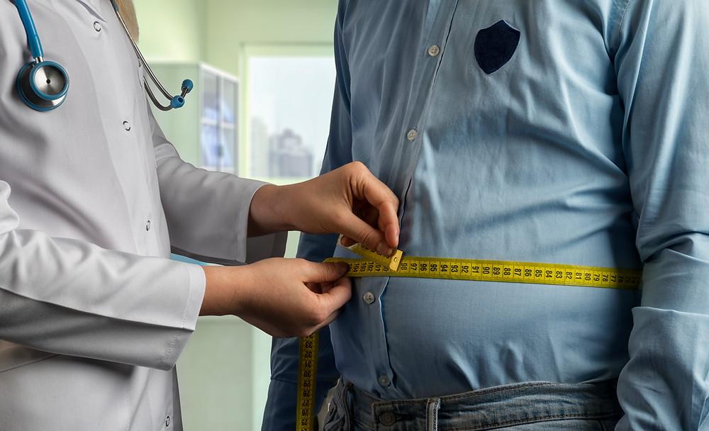 Abdominal fat, waist measurement