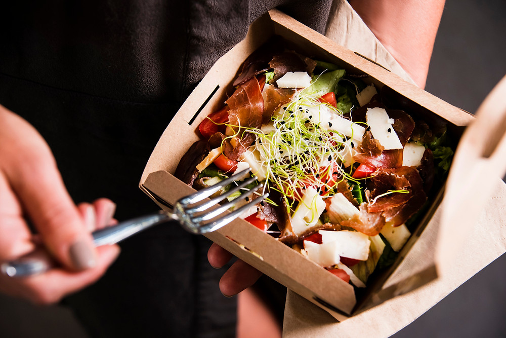 Healthy lunch spots, takeout lunch, casual dining