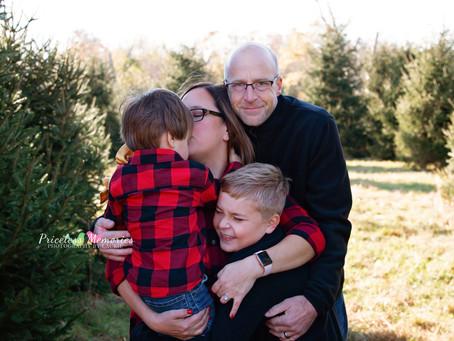 Berlin, NJ Christmas Family Photography