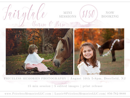 Unicorn & Horse Photography| Deerfield, NJ