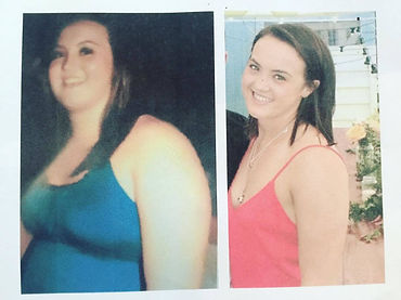Before and After - Tori Cubitt at Thriving with Diabetes