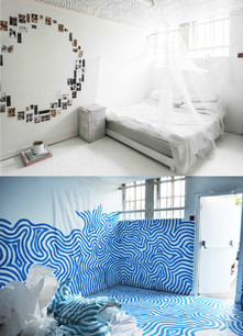 Line Girl Bedroom