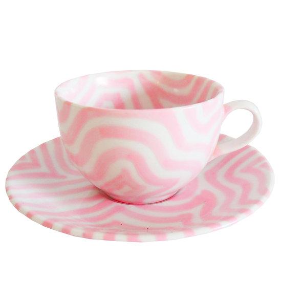 Baby Pink Tea cup
