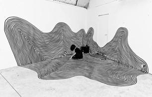 Tape Installation, Underdog Gallery, London