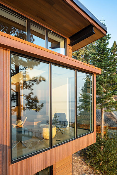 tahoe architecture, mountain modern, Ward Young Architects