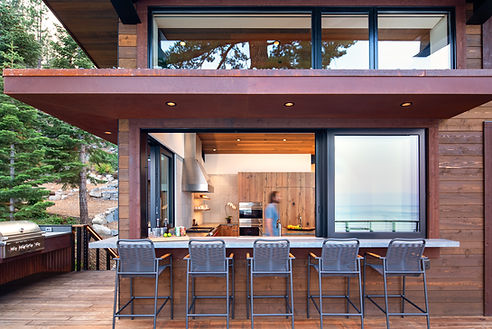 mountin modern, architrecture, Ward Young Architects, outdoor dining, Tahoe interior design, Tahoe