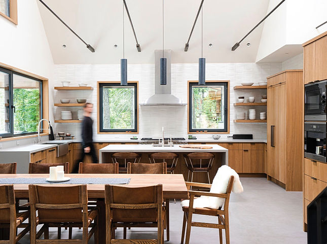 kitchen, Heath Ceramics, Sub Zero, id.3 interior design,  interior desgin, kitchen design, modern kitchen, mountain modern