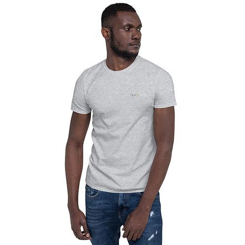 Rainbow Short-Sleeve Unisex T-Shirt Darker
