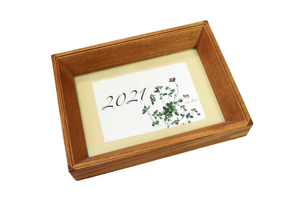 2021年カレンダー フォト和紙はがき
