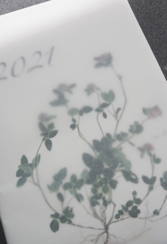 2021 B5フォト和紙カレンダー