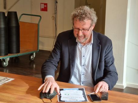 Ondertekening eerste PlasticVrij Pledge 2021!