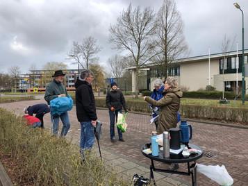 Aftrap Natuursterrenwijk Hoenderdaal groot succes!