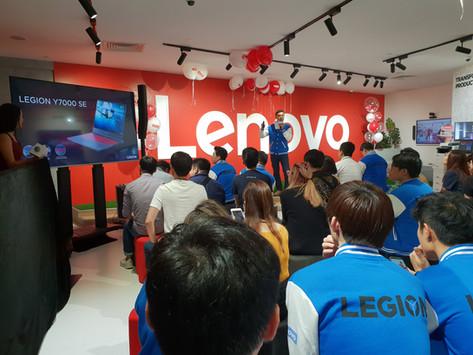Resurgence at the Lenovo Flagship Store Launch