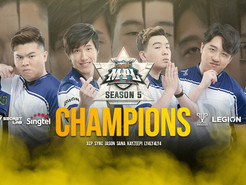 RESURGENCE RISE AS CHAMPIONS OF MPL MY/SG SEASON 5