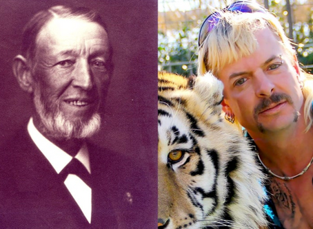 The Tiger King of the 19th Century, Joe Exotic and the long history of private zoos.By BETSY GOLDEN