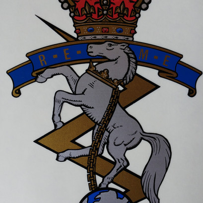 Royal Electrical and Mechanical Engineers Decal - From £14