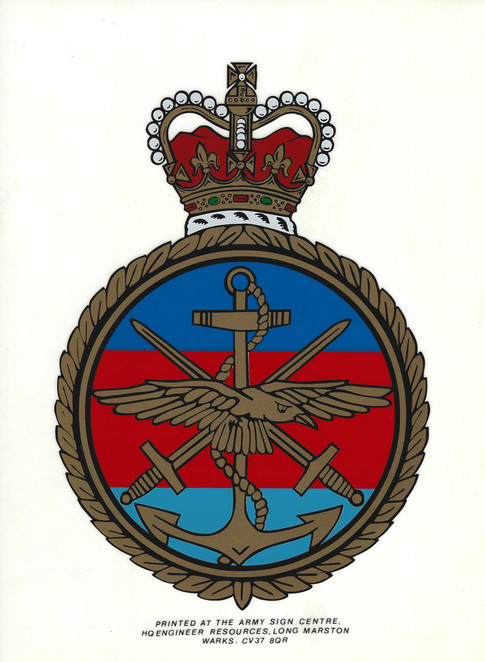 Vintage Armed Forces Decal £14