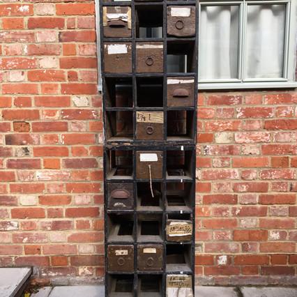 Vintage cobblers drawers £225