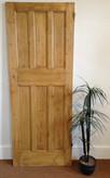 No8 / Waxed door