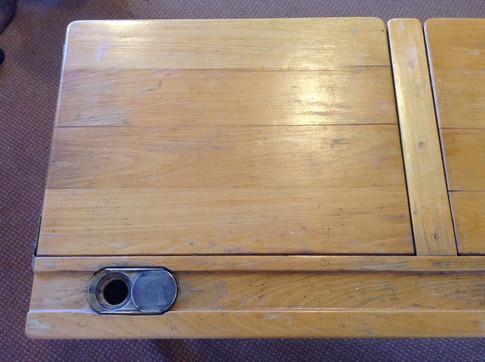 Vintage double school desk £130