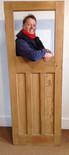 No9 / Waxed door
