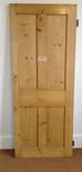 No4 / Waxed door