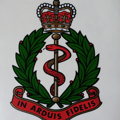 Royal Army Medical Corps Decal  £18