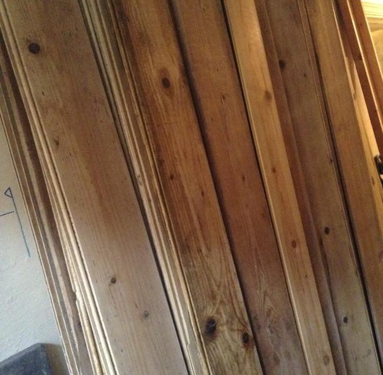 Antique Pine Bead Board £2 per ft