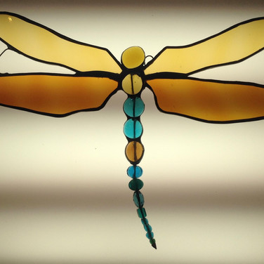 Stained Glass Dragonfly £32 each