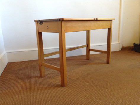 Vintage double school desk £130