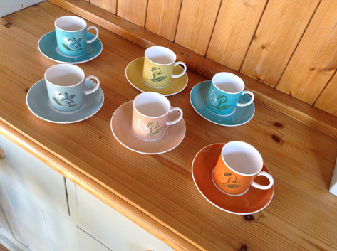 Susie Cooper Coffee Cups £55