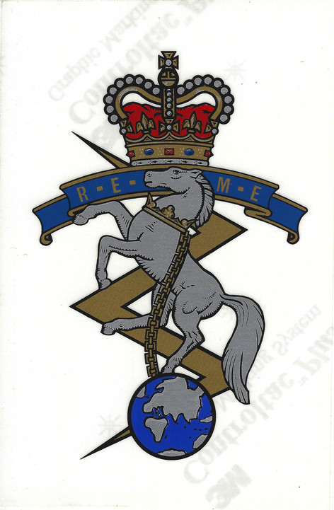 Vintage REME Decal £44