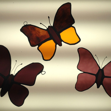 Stained Glass Butterflies £18 each