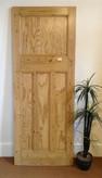 No16 / Waxed door