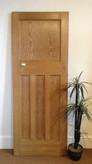 No15 / Waxed door