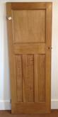 No12 / Waxed door