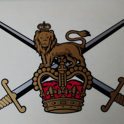 British Army Decal £18