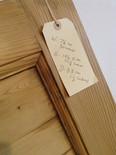 No17 / Waxed door