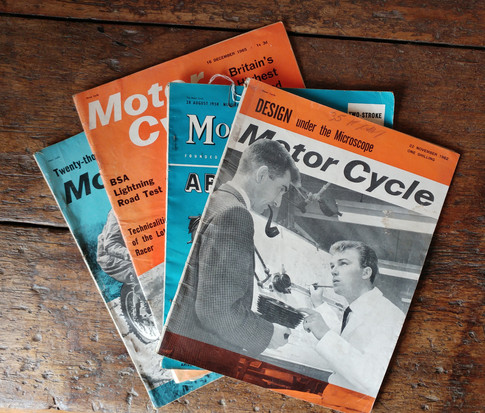 Motor Cycle Magazines circa 1960's  £9 each