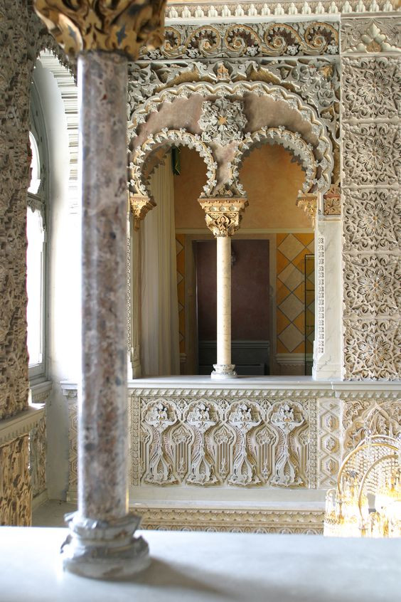A Moorish Villa in the north of Italy
