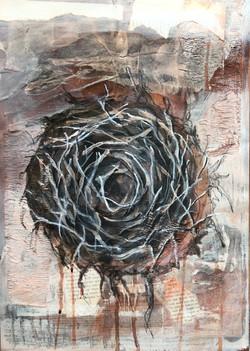 Zeichnung Nest