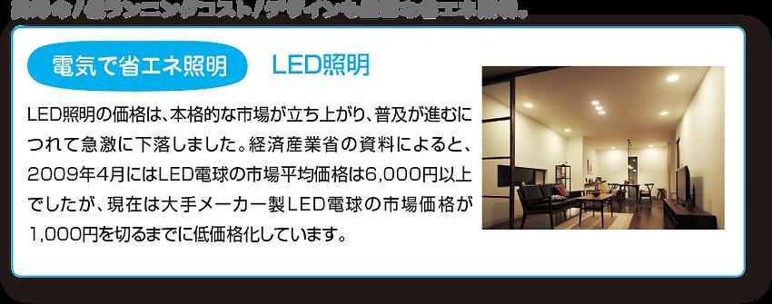 省エネ照明 LED照明