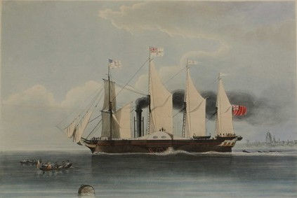 The_Great-Western_Steam_Ship_1838_H._Pap