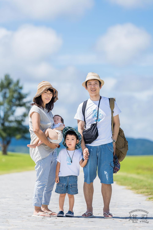 【家族写真(ファミリーフォト)】-@21世紀の森ビーチin沖縄【6月下旬AM】