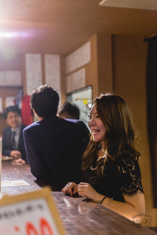 沖縄-結婚式二次会写真-Diningbar LINE-女性